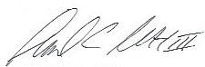 signature Samuel C. Scott, III